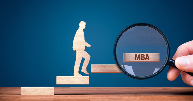 Career progress from an MBA degree